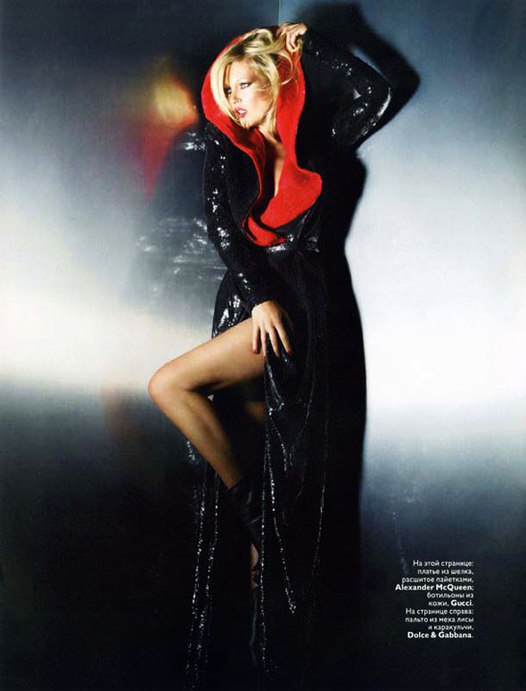 Kate Moss for Vogue Russia September by Sølve Sundsbø