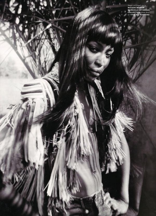 Naomi Campbell in Pop Magazine