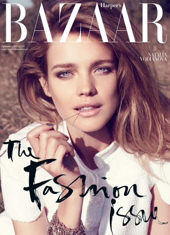 Harper's Bazaar UK September 2009 - Natalia Vodianova