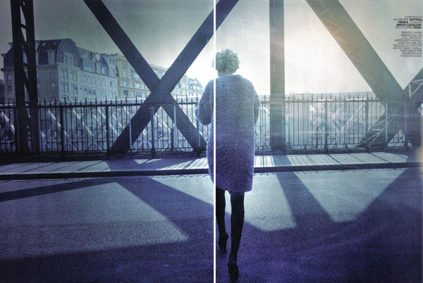 Paris Nouvelle Vague – Romina Lanaro by Taki Bibelas for Marie Claire Italy