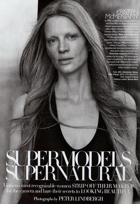 Supermodels Go Supernatural for Harper's Bazaar US September