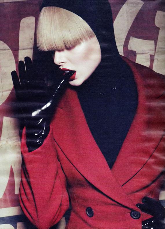 Power Surge - Tanya Dziahileva Lights Up Harper's Bazaar UK September