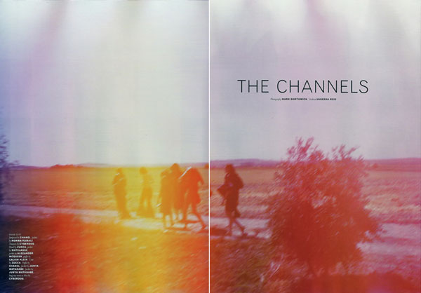 The Channels | Mark Borthwick for Pop Fall/Winter 09.10
