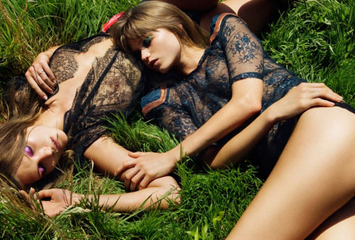 Preview | Abbey Lee & Catherine in Vogue Australia September