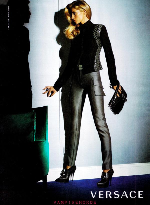 New Ads: Versace, MaxMara & Chanel