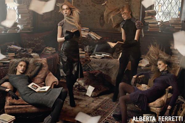 Campaign Preview | Alberta Ferretti Fall 2009 by Steven Meisel