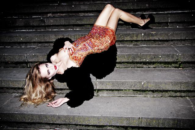 Anna Korzun in I Love You Magazine