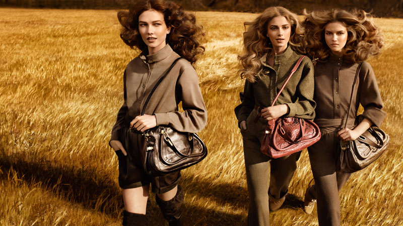 Chloé Fall 2009 Campaign by Mikael Jansson