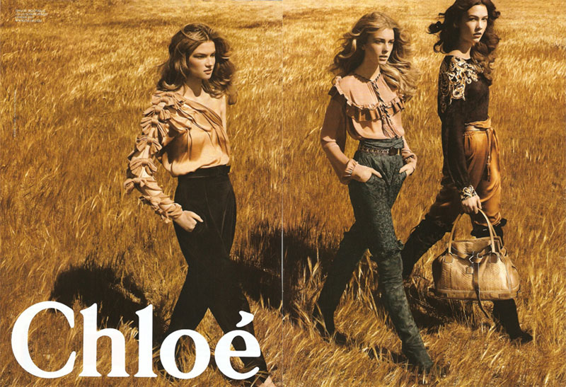 New Fall Ads: Chloé & Roberto Cavalli