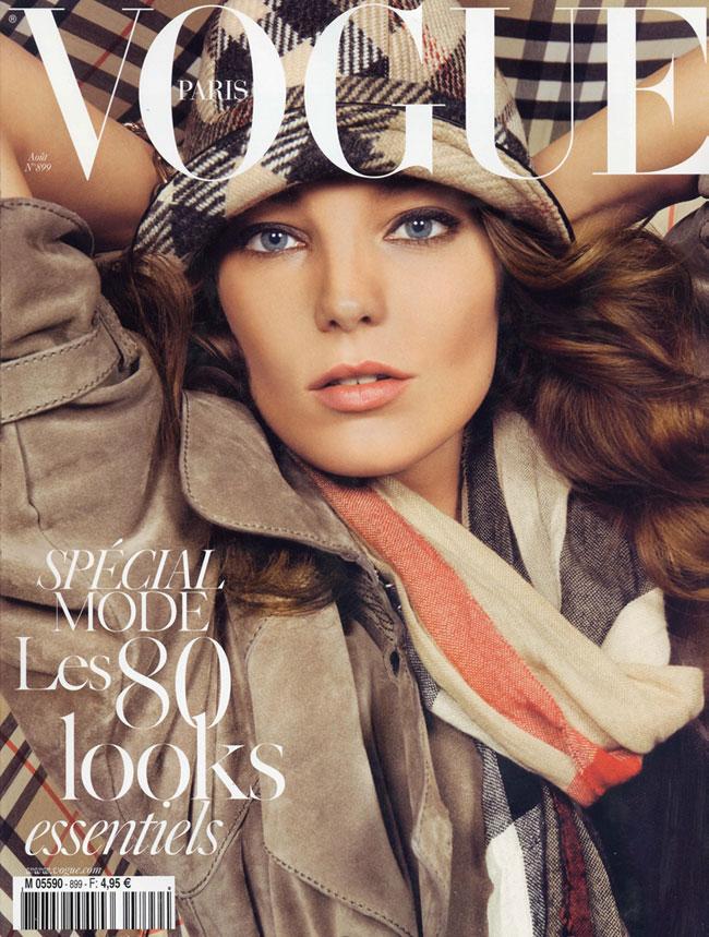 Vogue Paris August 2009 - Daria Werbowy by Inez & Vinoodh