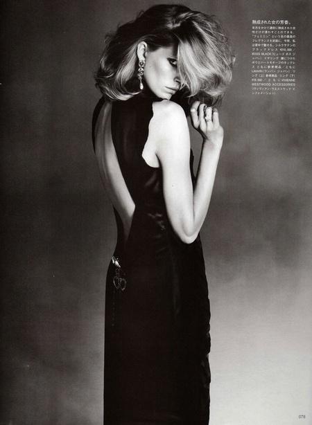 Iselin Steiro Returns to Print for Vogue Nippon's 'Feminine Destiny'