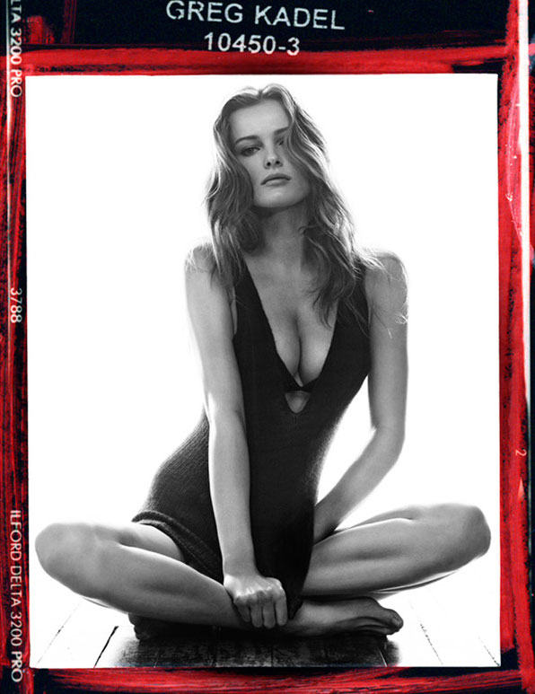 Edita is Red Hot for Vogue Germany August