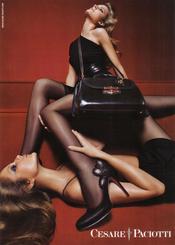 New Ads: Cesare Paciotti & Prada