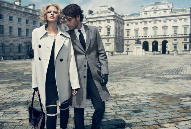 Campaign Preview | Jaeger London Fall 2009 by Emma Summerton