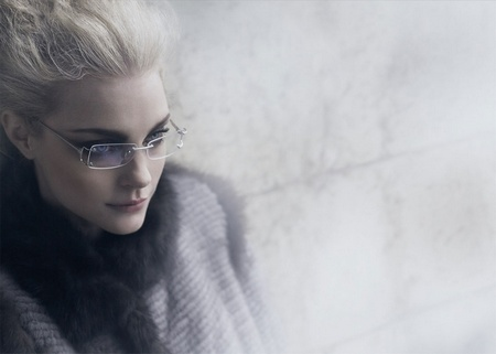 Jessica Stam for Fendi's Fall 2009 Campaign by Karl Lagerfeld