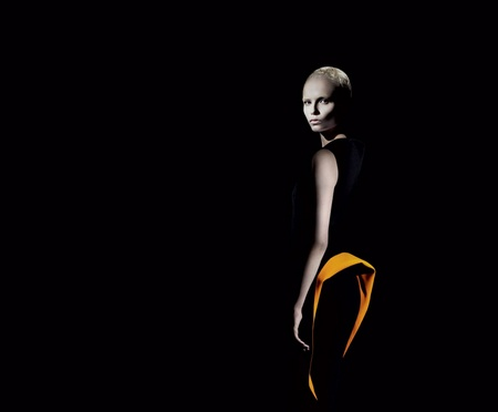Campaign | Natasha Poly for Jill Sander Fall 2009 by Willy Vanderperre
