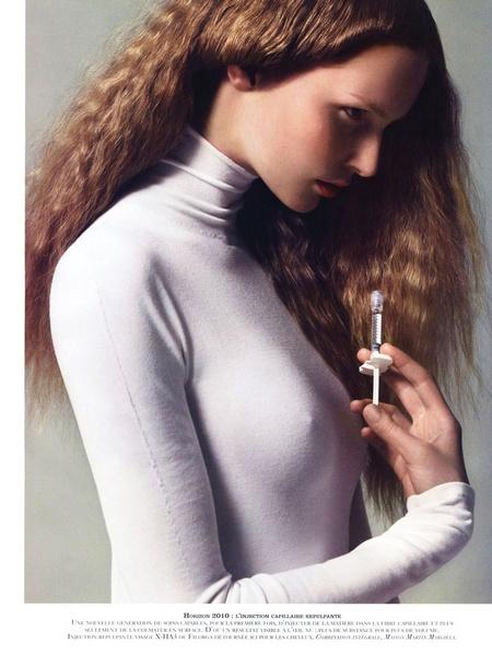 Katrin Thormann for Vogue Paris Beauté