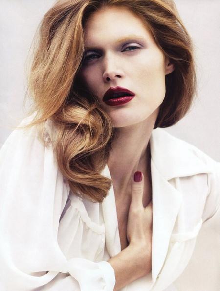 Vogue Paris August | Malgosia Bela by Cédric Buchet
