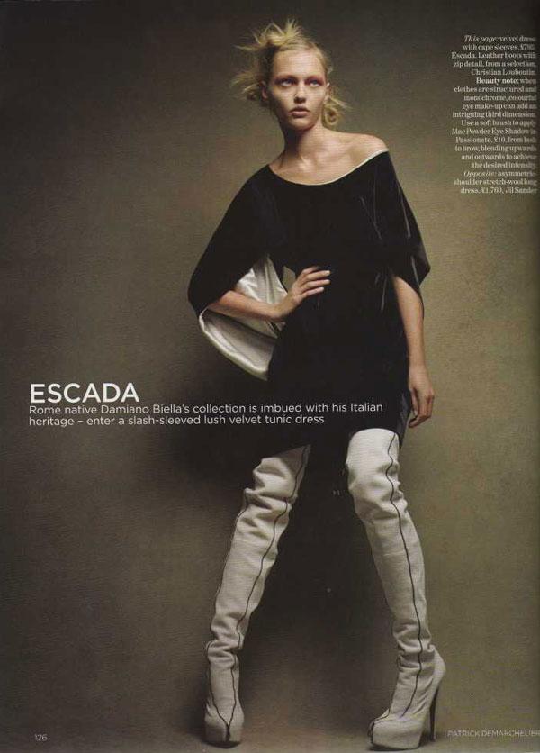 Sasha and Freja Take a Trip to Milan for Vogue UK