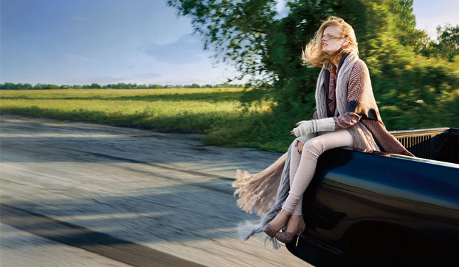 More Hanne for Missoni Fall 2009