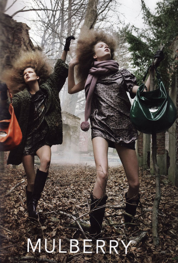 Mulberry Fall 2009 Campaign by Steven Meisel