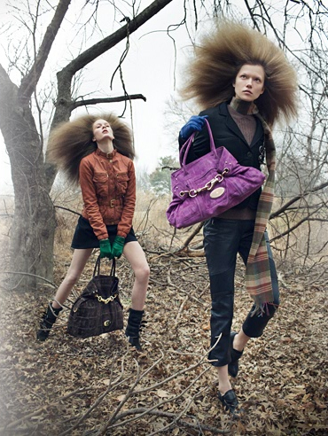 Campaign | Irina & Kasia for Mulberry Fall 2009