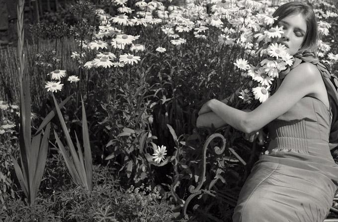 Morning Beauty | Natalia Vodianova by Sofia Sanchez & Mauro Mongiello