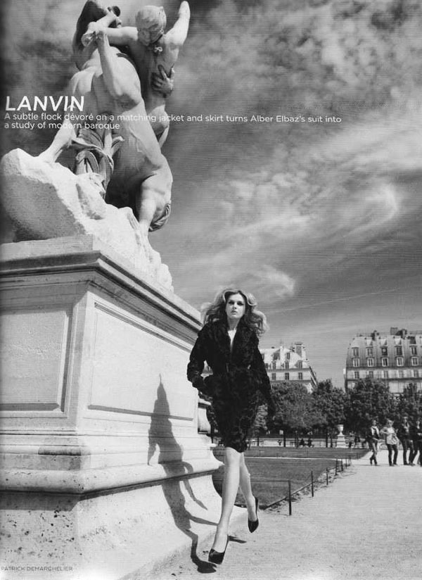 Lily Donaldson in 'Paris'