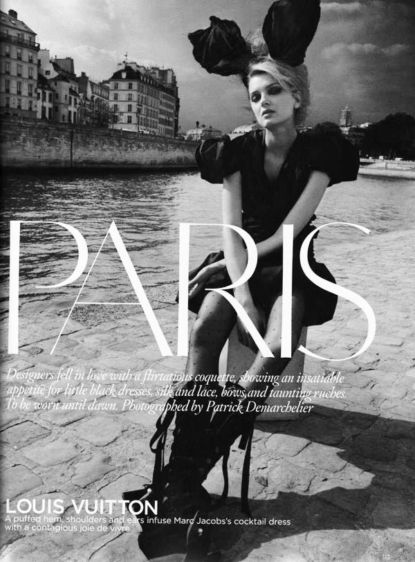 Lily Donaldson in 'Paris'