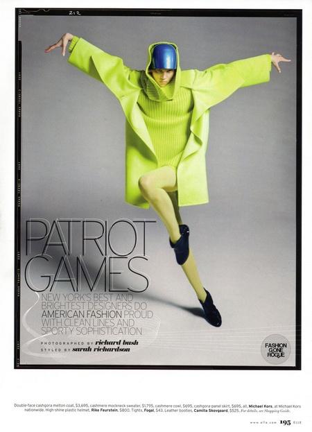 Patriot Games by Richard Bush