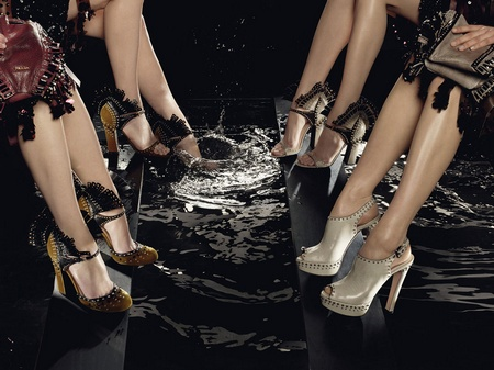 Prada Fall 2009 Campaign by Steven Meisel (Complete)