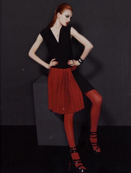 Vlada in Harper's Bazaar Russia