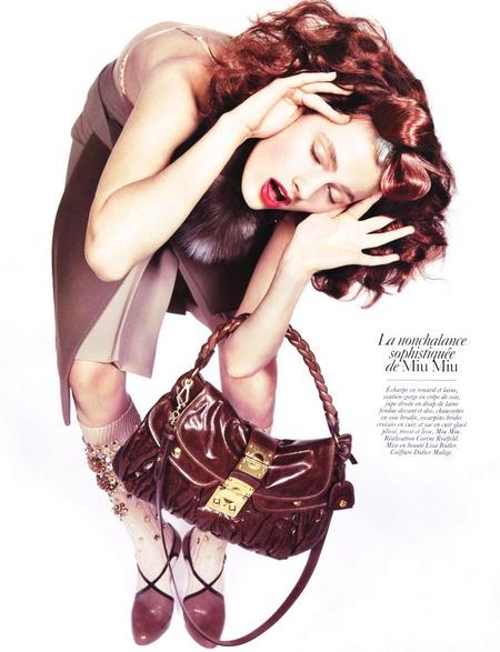 Vogue Paris August 2009 | ADN de la Mode by Inez & Vinoodh (Part 2)