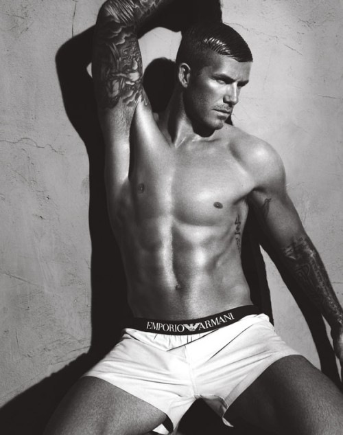 Beckham for Emporio Armani by Mert & Marcus