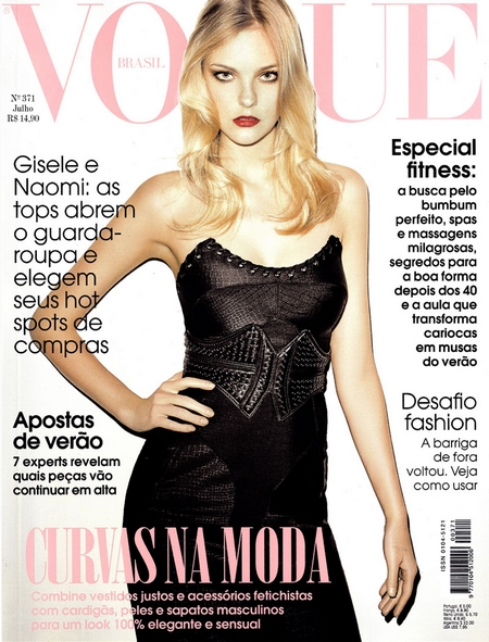 Caroline Trentini for Vogue Brazil by Terry Richardson