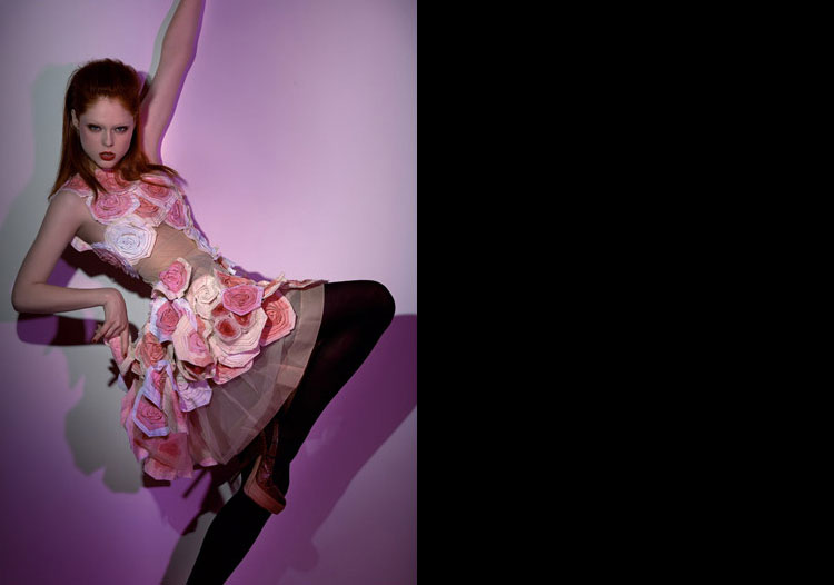 Coco Rocha's 'On Fire' for Wish Report