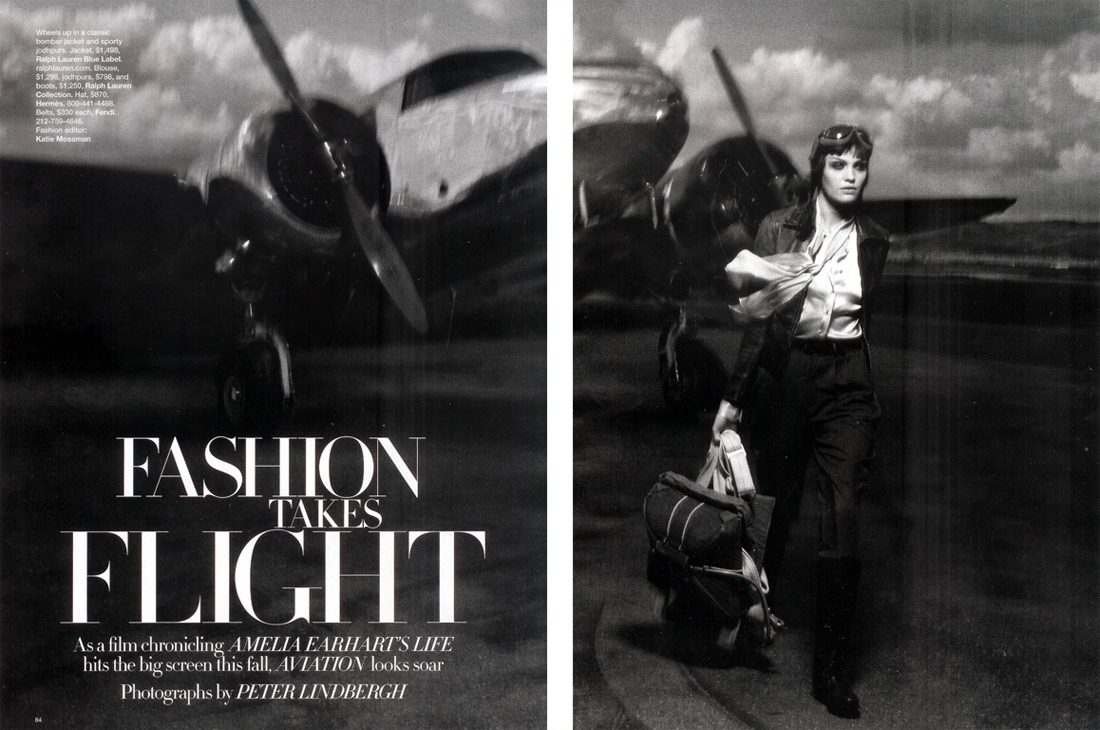 'Fashion Takes Flight' with Heidi Mount