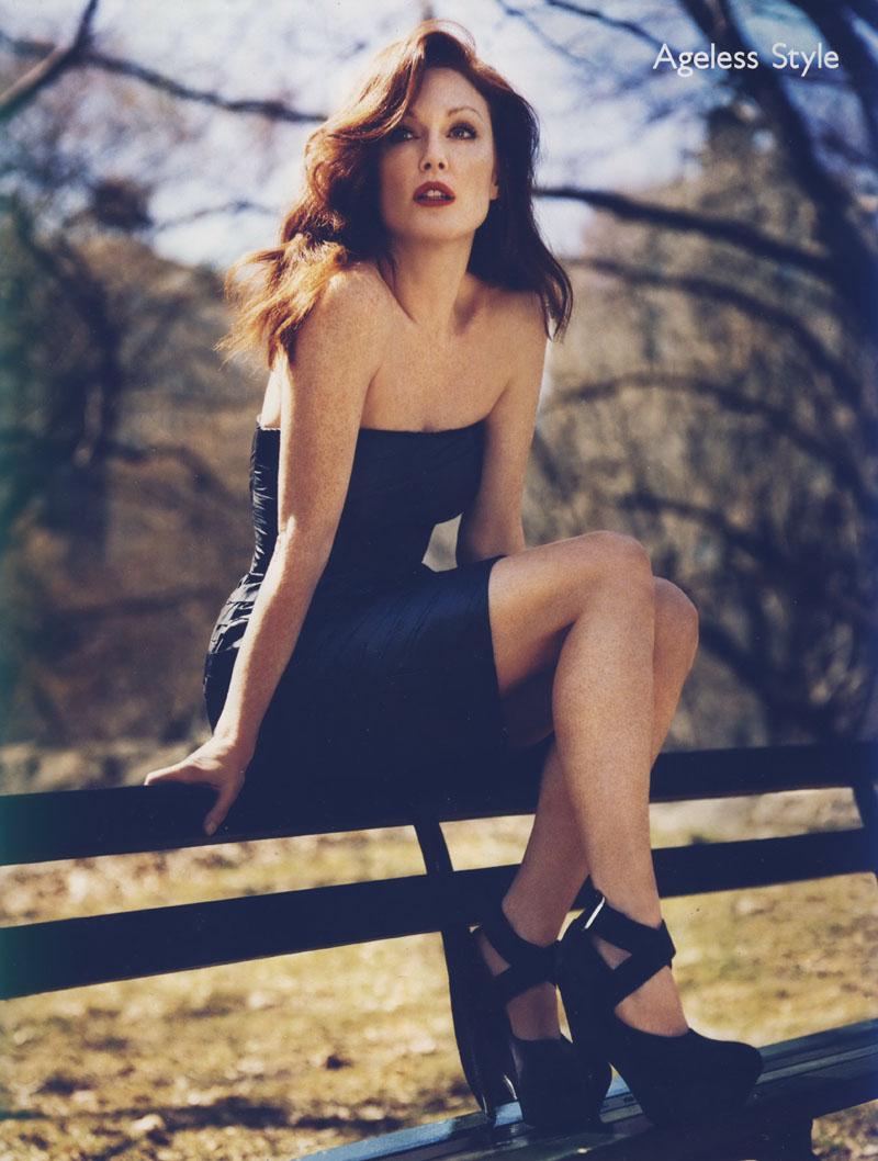 Julianne Moore for Vogue UK July