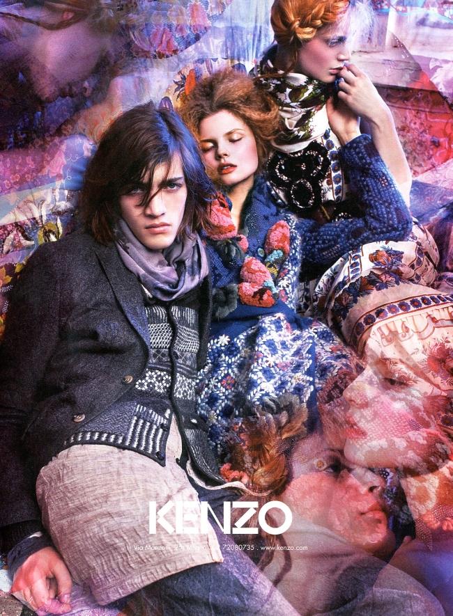 Kenzo Fall/Winter 09.10 by Mario Sorrenti