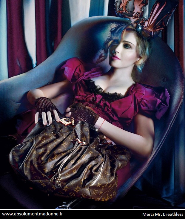 Madonna for Louis Vuitton F/W 09.10