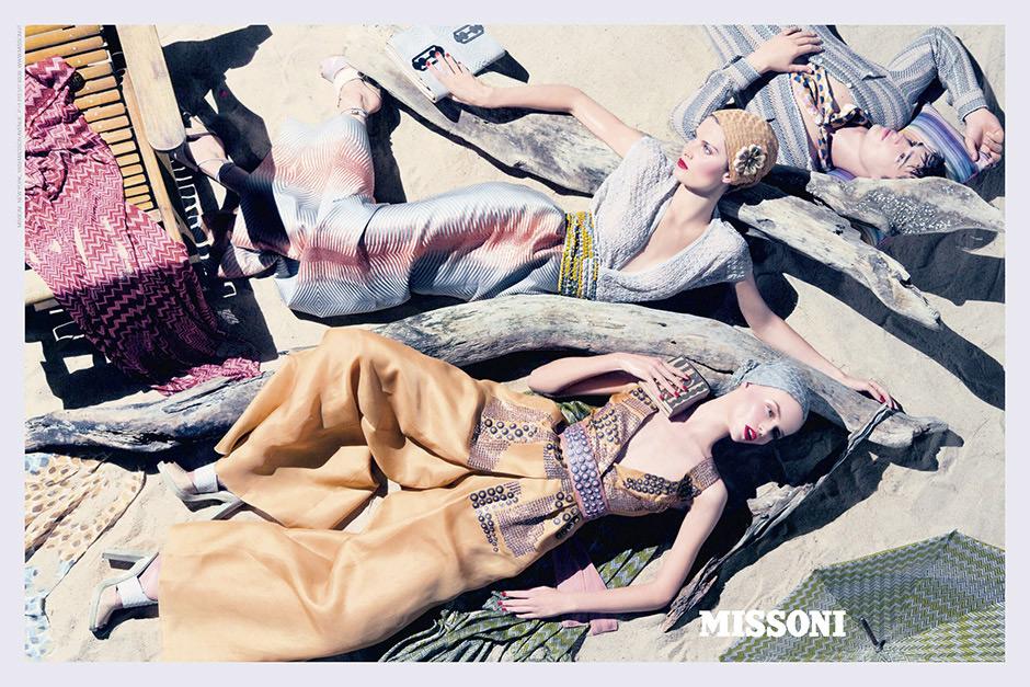 Missoni Spring/Summer 2009 Campaign