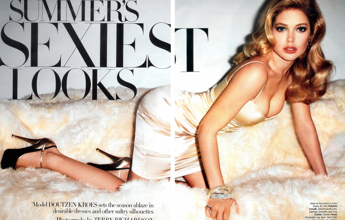 Summer's Sexiest Looks with Doutzen Kroes