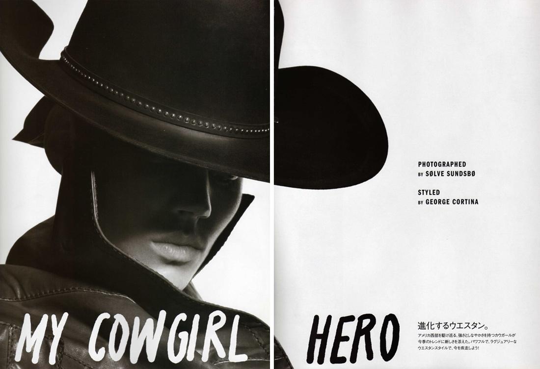 Freja is a 'Cowgirl Hero'