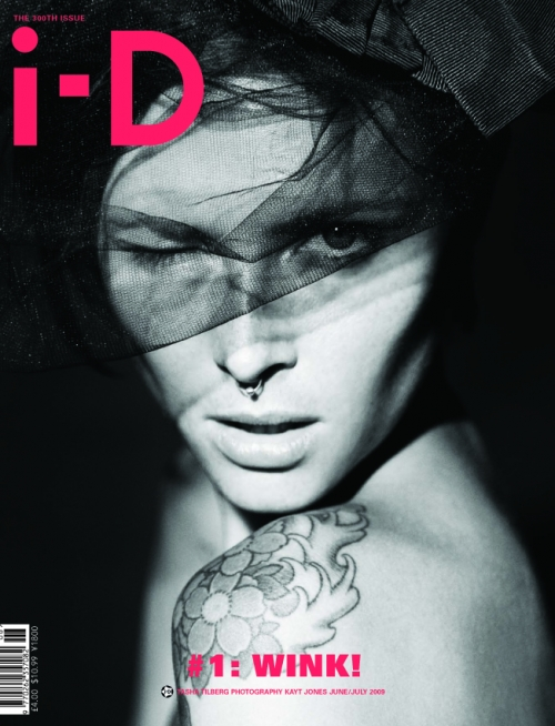 3 Covers for i-D #300