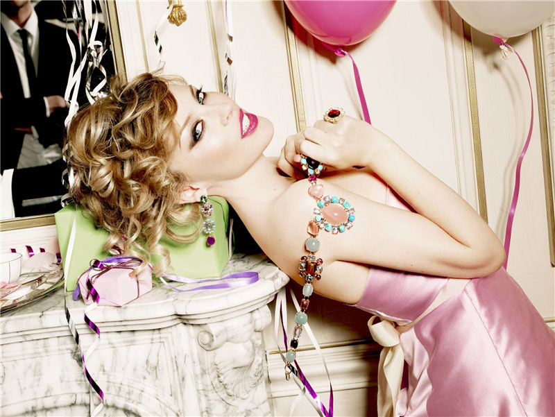 Kylie Minogue by Ellen von Unwerth for TOUS