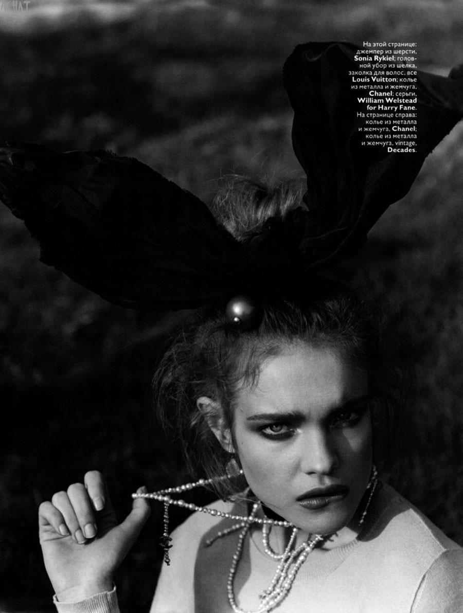 Natalia in Vogue Russia June