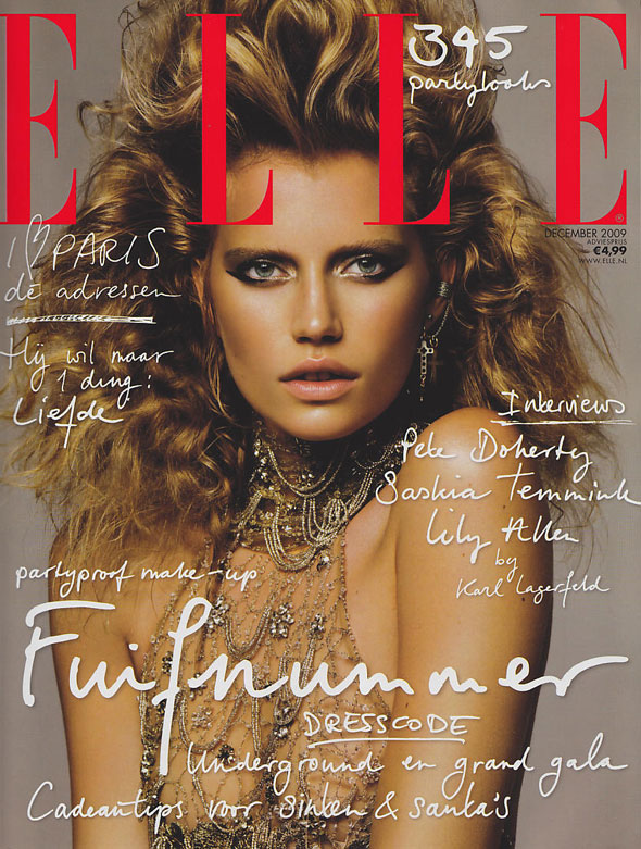 Cover | Cato Van Ee for Elle Netherlands December 2009