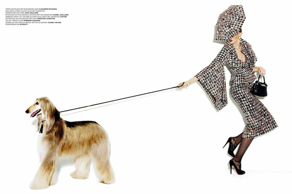 Dutch L'Officiel | Frida Gustavsson by Martin Lidell