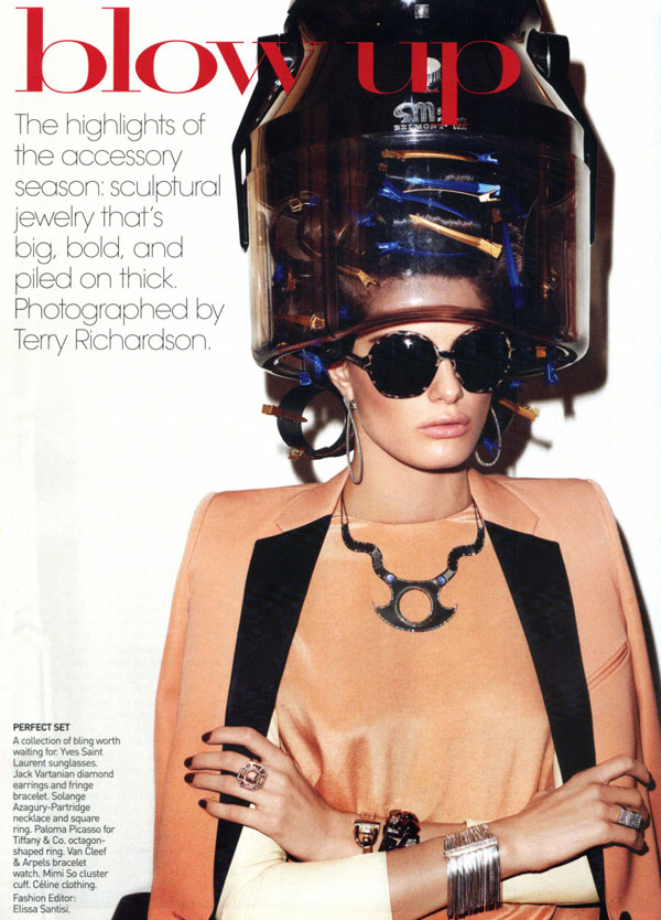Blow Up | Isabeli Fontana by Terry Richardson for Vogue US
