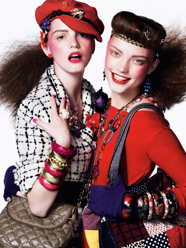 Fall 2009 Campaign | Jeisa & Naty for Monsoon Accessorize